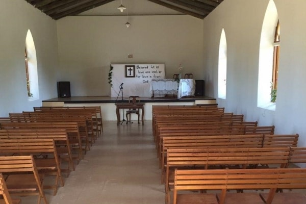 Inside Stormsvlei Church